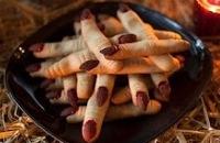 Halloween - Recept voor Enge heksenvingers  filmpjes