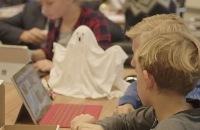 Jeugdjournaal - Kinderen brengen spookjes tot leven met micro:bit