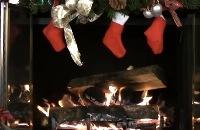 Kerstmis - Openhaard filmpjes