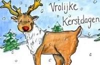 Kerstmis - Kareltje en Sjonnie vieren Kerst