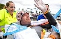 Jeugdjournaal - Van der Weijden is ziek en stopt na 55 uur zwemmen