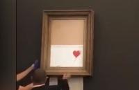 Jeugdjournaal - Schilderij van 1,2 miljoen versnippert zichzelf na verkoop