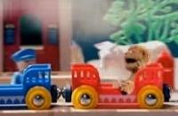 Sesamstraat - Rooie trein