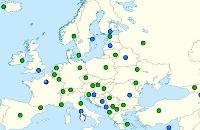 Topografie : De hoofdsteden van Europa