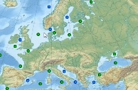 Europese Zeeën , topografie en het verschil tussen zeeën en oceanen