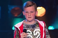 The Voice Kids - Bram met Out Here On My Own