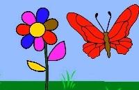 Het Bloemetje en de Magische Vlinder