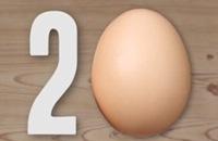 Rond de wereld in 20 eieren