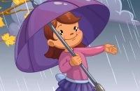 Herfstliedje - Huppelen in de regen