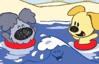 Woezel en Pip - Golfje in de zee