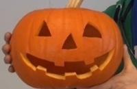 Halloween - Pompoen uitsnijden