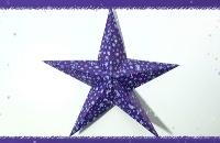 Origami ster vouwen voor kerst filmpjes