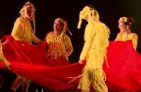 Kinderen met een beperking dansen in de schijnwerpers
