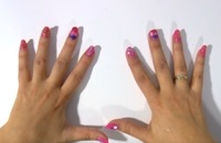 Carnaval - Nagels versieren met nagellak en confetti