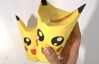 Trakteren op school - Schattige Pikachu (Pokemon) traktatie voor popcorn