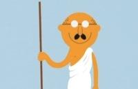 Clipphanger - Wie was Gandhi filmpjes