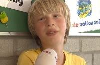 Jeugdjournaal - Op de basisschool van Tom Dumoulin