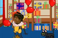 Ballonnen hooghouden