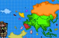 Azië Puzzle