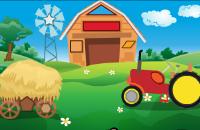 Vormen op de boerderij Spelletjes