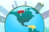 Continenten en oceanen