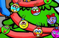 Stuiterende kerstballen