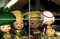 Drie Koningen schuifpuzzel Spelletjes
