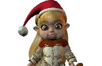 Kerstelfjes aankleden
