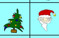 Getallenvierkant Kerstmis