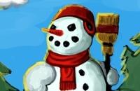 Een sneeuwpop maken