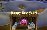 Totos vuurwerk van het Nieuwe jaar