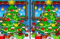 Kerstmis - Zoek de verschillen Spelletjes