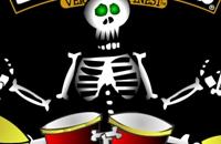 Halloween drummer