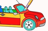 Auto kleurplaten