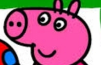 Peppa Pig kleuren