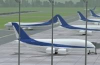 Vliegveld gekheid