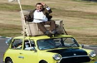 Mr Bean - Mini Cooper puzzle
