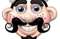 Mr. Harig gezicht