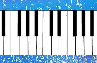 Piano op de oceaan
