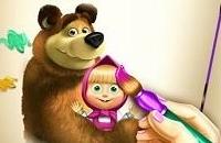 Masha en de beer - kleuren Spelletjes