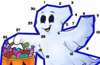 Halloween lijnpuzzle