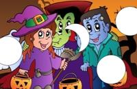 Halloween schuifpuzzle Spelletjes