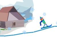 Lijntje rijden snowboard