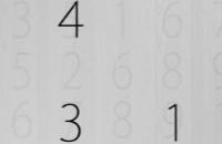 Onthoud de getallen