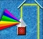Speel het nieuwe spel: Regenboog techniek