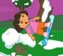 Speel het nieuwe spel: Dora snowboard